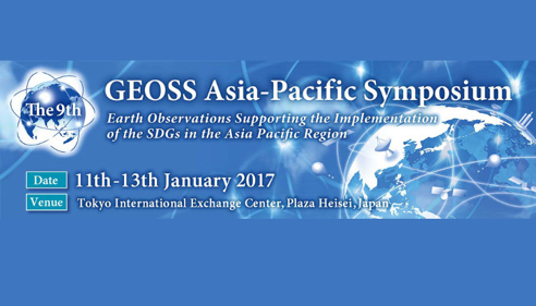 The 9th GEOSS Asia-Pacific Symposium
