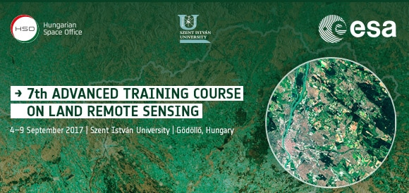 7th ESA Advanced Training Course on Land Remote Sensing