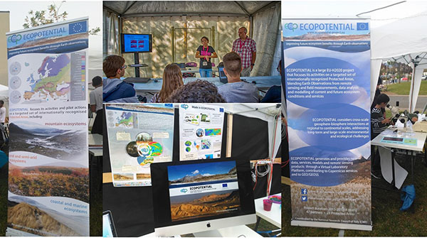 ECOPOTENTIAL @European Researchers' Night in Spain, Italy and Greece