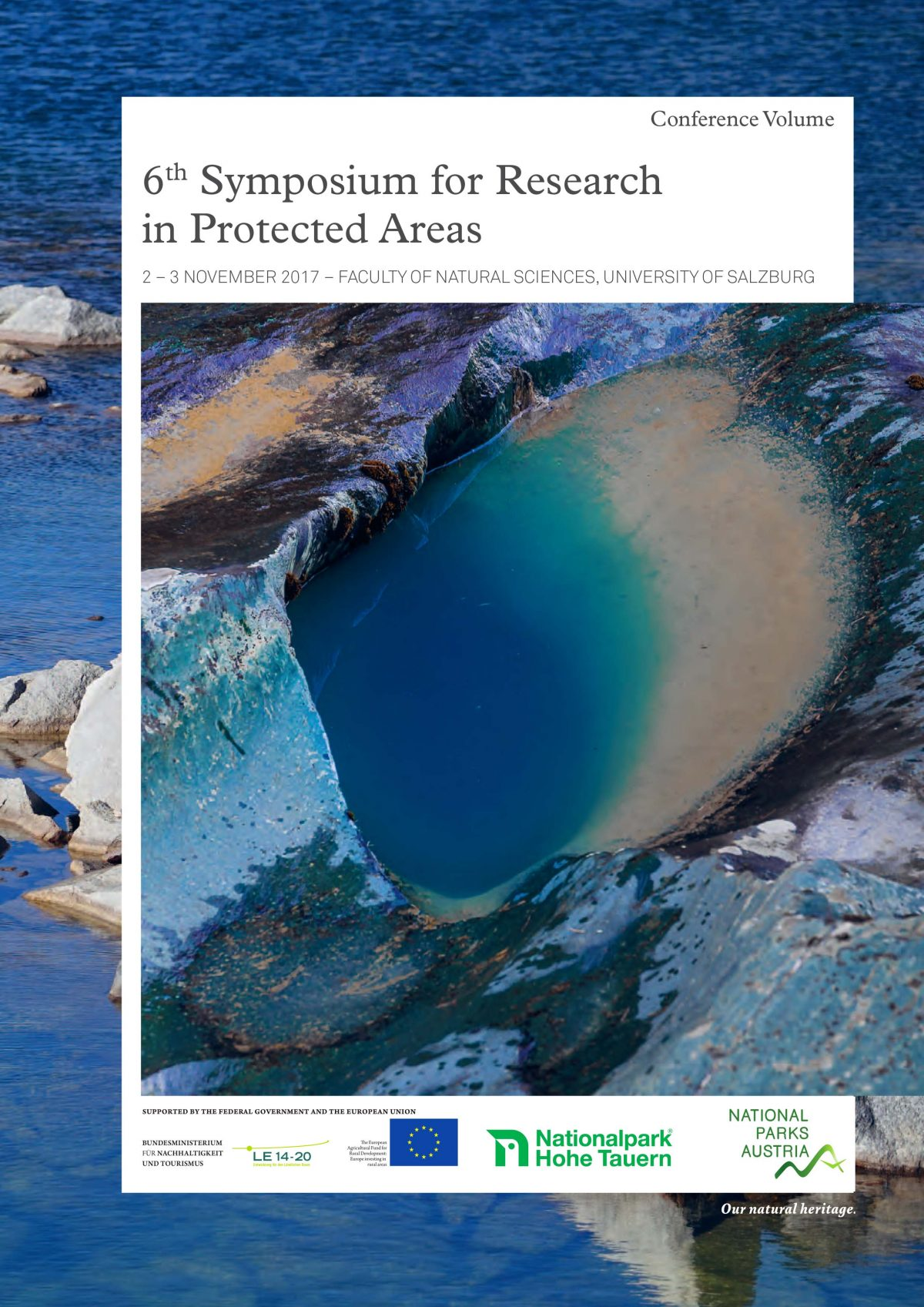 Book of Abstracts of the 6th Symposium for Research in Protected Areas released
