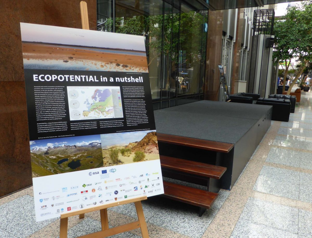 The Ecopotential Exhibition is Travelling: Bruxelles!