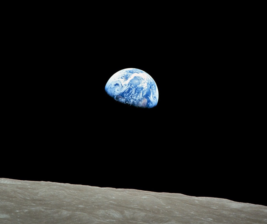 EARTHRISE! 50 years since the shot of the photo that changed how we see ourselves…