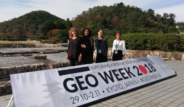 ECOPOTENTIAL at the XV GEO PLENARY