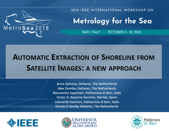 A new approach for automatic Extraction of Shoreline from Satellite Images