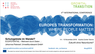 "ECOPOTENTIAL at the ""Growth in Transition"" Conference"